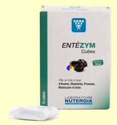 Entezym Masticable - Transito intestinal - Nutergia - 12 cubos