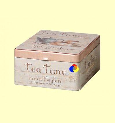 Lata para Guardar el Té de Cuatro Compartimentos Tea Time - Cha Cult - 1 unidad