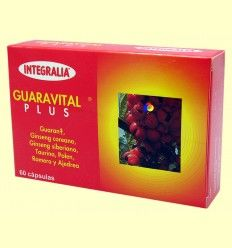 Guaravital Plus - Energético - Integralia - 60 cápsulas