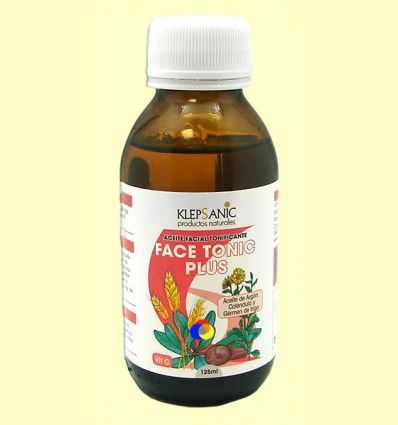 Aceite Facial - Face Tonic Plus - Klepsanic - 125 ml