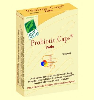 Probiotic Caps Forte - 100% Natural - 30 cápsulas