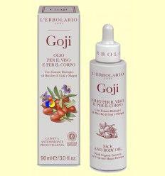 Aceite para la cara y cuerpo Goji - L'Erbolario - 90 ml
