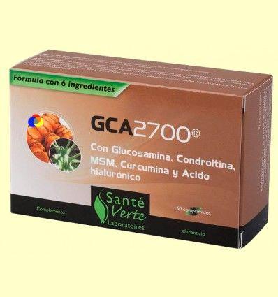 GCA 2700 - Articulaciones - Santé Verte - 60 comprimidos *