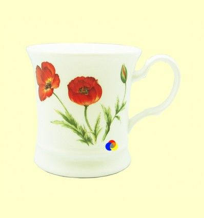 Taza de Porcelana Poppy - Cha Cult - 1 unidad