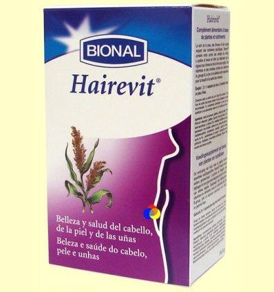 Hairevit - Piel y Uñas - Laboratorios Bional - 30 cápsulas