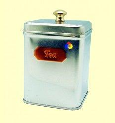 Lata Cuadrada para Té con Capacidad para Guardar 100 gramos - Cha Cult - 1 unidad