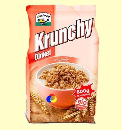 Krunchy Espelta Coco Bio - Barnhouse - 600 gramos