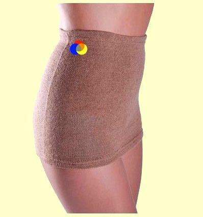 Cinturón lumbar terapéutico de lana de camello 100% - Bohema - Talla XL