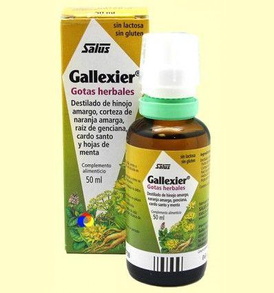 Gallexier - Gotas herbales - Salus - 50 ml ******