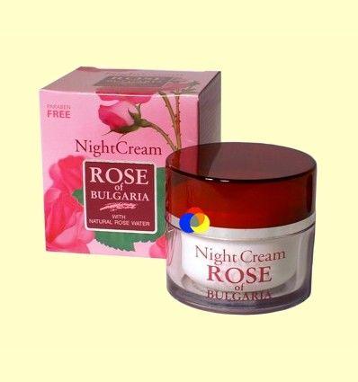 Crema Nutritiva de Noche - Rose of Bulgaria - 50 ml