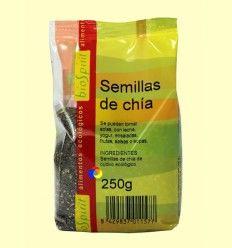 Semillas de Chía Bio - BioSpirit - 250 gramos