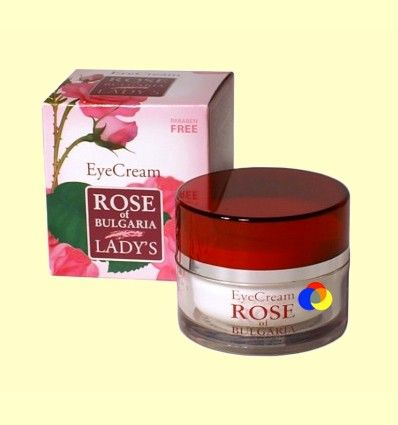 Crema Contorno de Ojos - Rose of Bulgaria - 25 ml