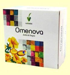 Omenova - Aceite de Onagra - Novadiet - 100 cápsulas blandas