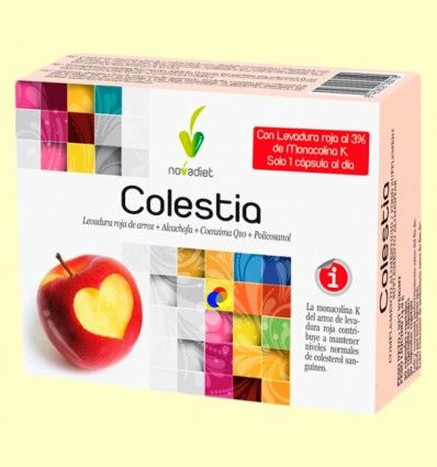 Colestia - Colesterol - Novadiet - 30 cápsulas