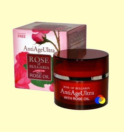 Crema Regenerante Antiedad Ultra - Rose of Bulgaria - 50 ml