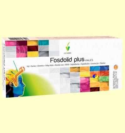 Fosdolid Plus Viales - Disminuir la fatiga - Novadiet - 20 viales