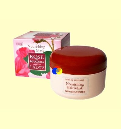 Mascarilla para el Cabello - Rose of Bulgaria - 330 ml