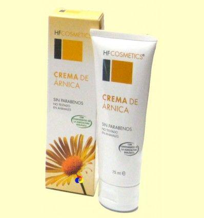 Crema de Árnica - Contusiones - HF Cosmetics - 75 ml ******