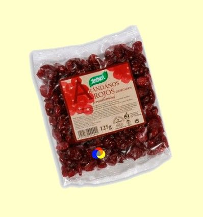 Arándanos Rojos desecados - Santiveri - 125 gramos