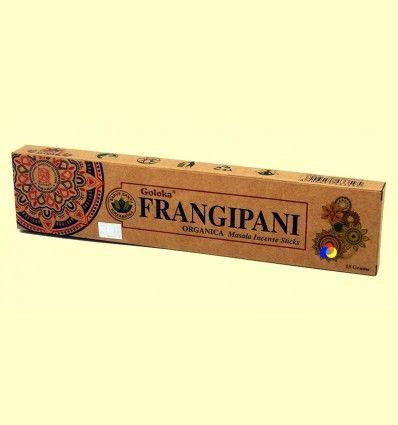 Incienso Frangipani - Goloka - 15 gramos