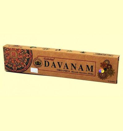 Incienso Davanam - Goloka - 15 gramos