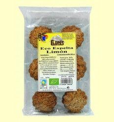 Galleta Eco Espelta Limón - Clopes - 160 gramos