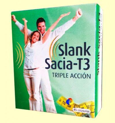 Slank Sacia T3 Triple Acción - Espadiet - 45 cápsulas *