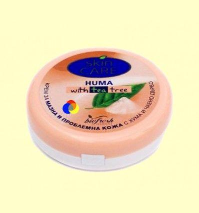 Crema Facial Skin Care de Árbol de Té Anti Acné - Biofresh - 150 ml