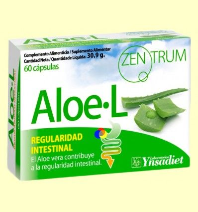 Zentrum Aloe - L - Regulador intestinal - Ynsadiet - 60 cápsulas