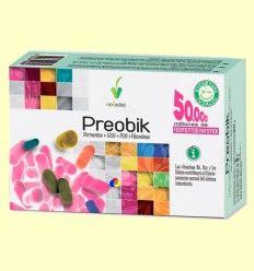 Preobik - Fermentos + GOS + FOS + Vitaminas - Novadiet - 10 sticks