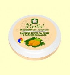Crema Facial Herbal de Almendras - Drugui - 75 ml