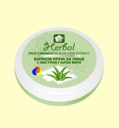 Crema Facial Herbal de Aloe Vera - Biofresh - 75 ml