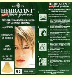 Herbatint Rubio Arena Tinte - Gel Permanente - 135 ml +*