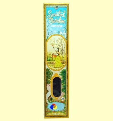 Incienso Scented Garden Ruda - Radhe Shyam - 12 varillas