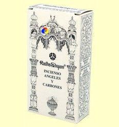Incienso Ángeles y Carbones - Radhe Shyam - 50 g + 10 uds