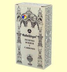 Incienso Bukhur y Carbones - Radhe Shyam - 50 g + 10 uds