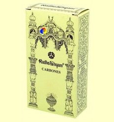 Carbones especiales para incienso - Radhe Shyam - 20 uds