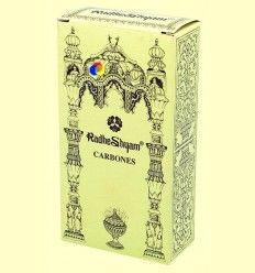 Carbones especiales para incienso - Radhe Shyam - 20 uds