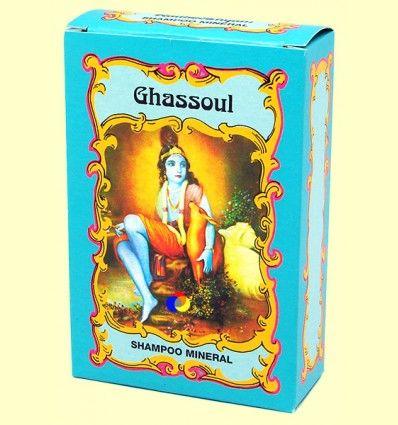 Ghassoul Champú Mineral - Radhe Shyam - 100 gramos