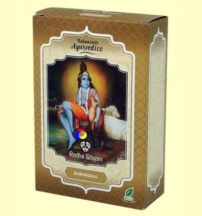 Bhringraj Tratamiento Capilar Ayurvédico - Radhe Shyam - 100 gramos