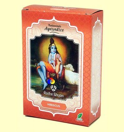Hibiscus Tratamiento Capilar Ayurvédico - Radhe Shyam - 100 gramos