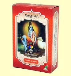 Henna Cobre Natural Polvo - Radhe Shyam - 100 gramos