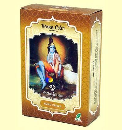 Henna Rubio Ceniza Polvo - Radhe Shyam - 100 gramos