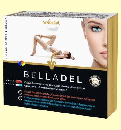 Belladel - Peso saludable y Piel tersa - Novadiet - 60 cápsulas vegetales