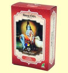 Henna Caoba Luminoso Polvo - Radhe Shyam - 100 gramos