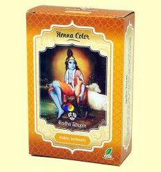 Henna Rubio Dorado Polvo - Radhe Shyam - 100 gramos