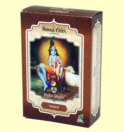 Henna Katam Polvo - Radhe Shyam - 100 gramos