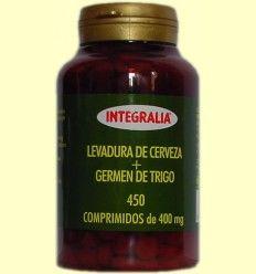 Levadura Cerveza+Germen Trigo - Integralia - 450 comprimidos