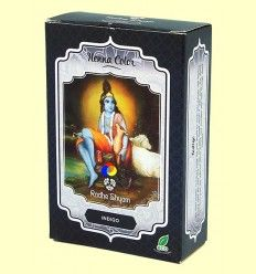 Henna Indigo Polvo - Radhe Shyam - 100 gramos