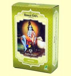 Henna Neutro Polvo - Radhe Shyam - 100 gramos